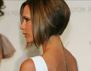 Lady Nape Victoria Beckham Posh Spice Has The Best Bob Hairstyle