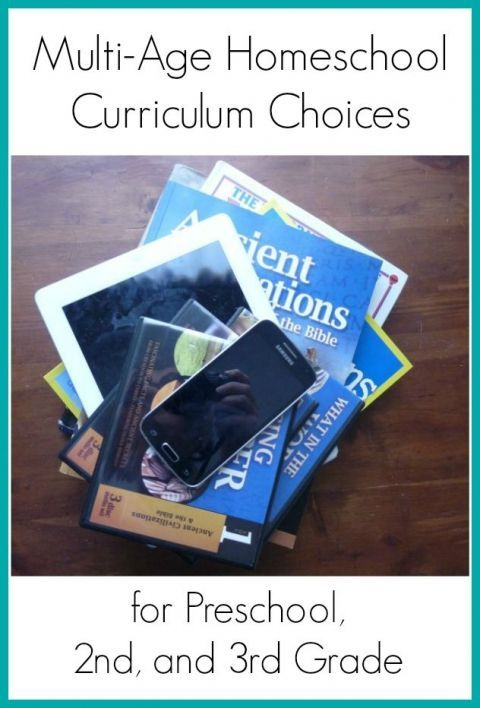 Photo of Multi-Age Homeschool Curriculum Choices for Preschool, 2nd, and 3rd Grade   Imperfect Homemaker