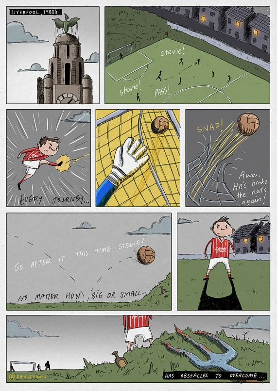 Stevie G Comic  A3 Print by DanLeydon on Etsy, €20.00