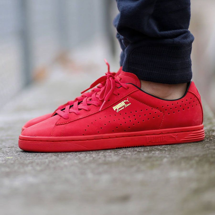 the best attitude 39b2e c9e34 Red Pumas sneakers Puma Suede Red, Nike Shoes, Pumas Shoes, Shoes Men