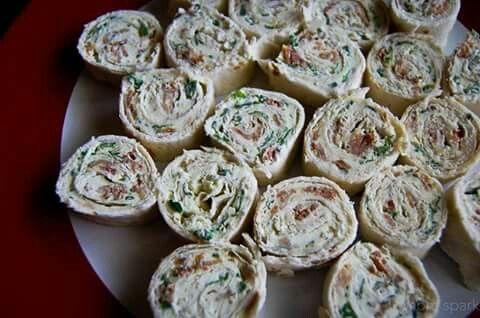 Cream cheese rollups