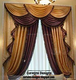 top luxury drapes curtain design ideas,unique luxury drapery ...