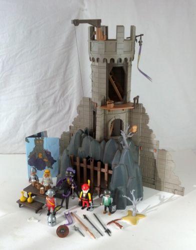 vintage playmobil baron 39 s battle tower castle 3665. Black Bedroom Furniture Sets. Home Design Ideas