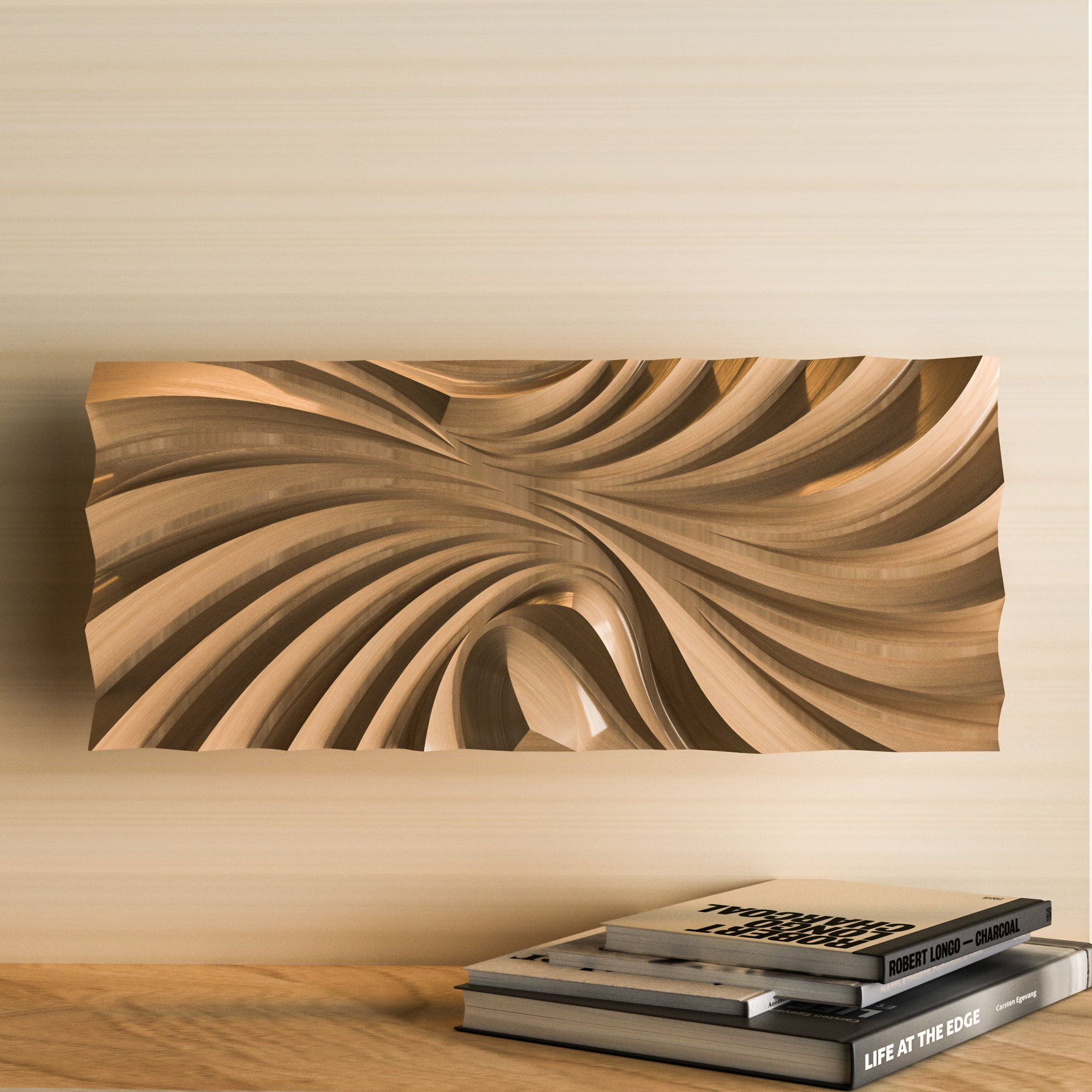 3d Model Of Wall Panels Cnc Panels Cnc Router File 3d Stl Model Snc Furniture Facade Stl Cnc Wave Sculpture Snc Files For Wood In 2021 Wall Panels Cnc Wood Carving