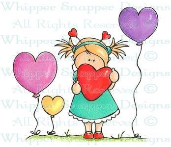 Valentine MiMi - Children - Rubber Stamps - Shop