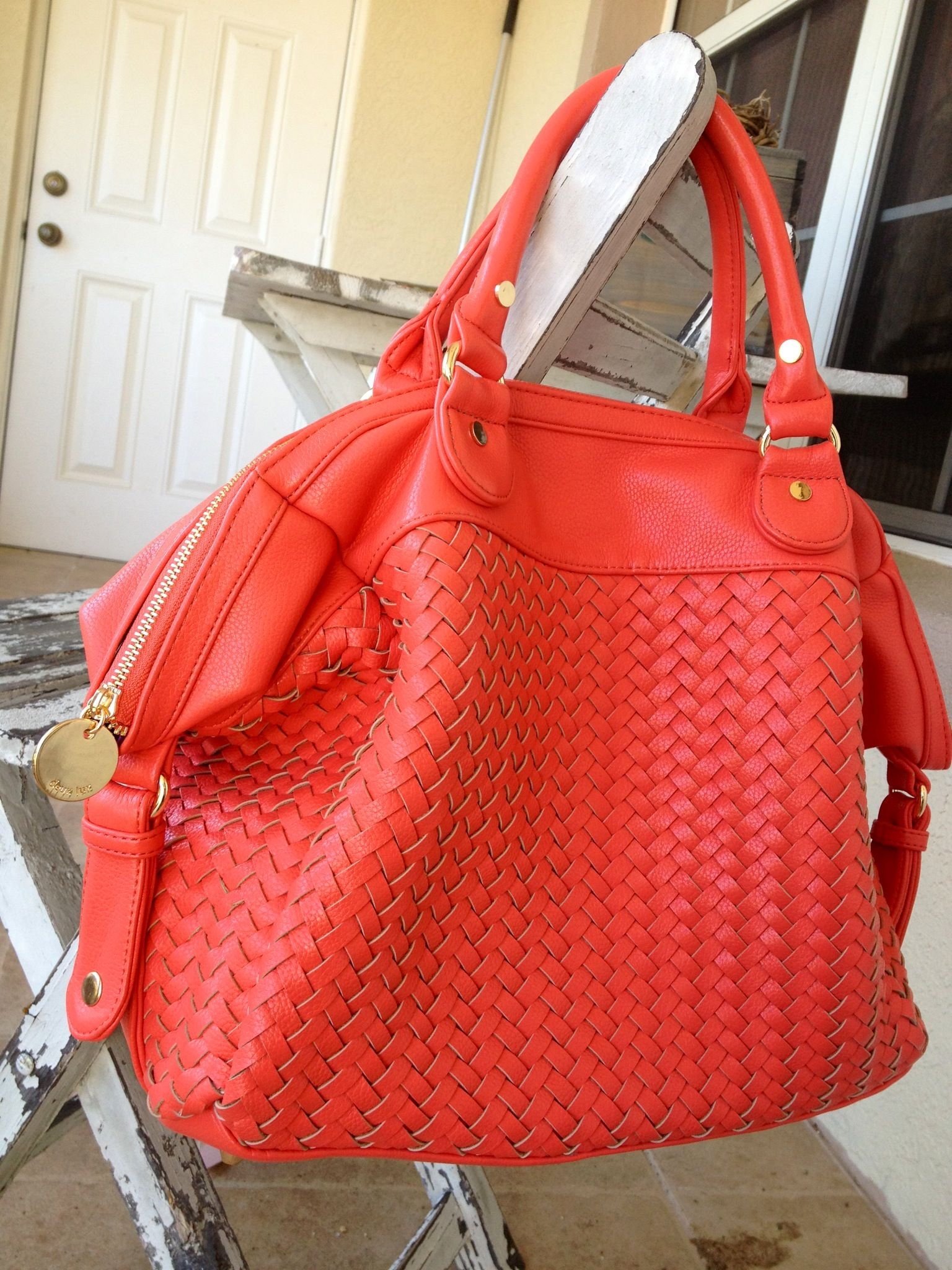 de028a79f403 deux lux bag in coral  anthropologie. deux lux bag in coral  anthropologie Best  Purses
