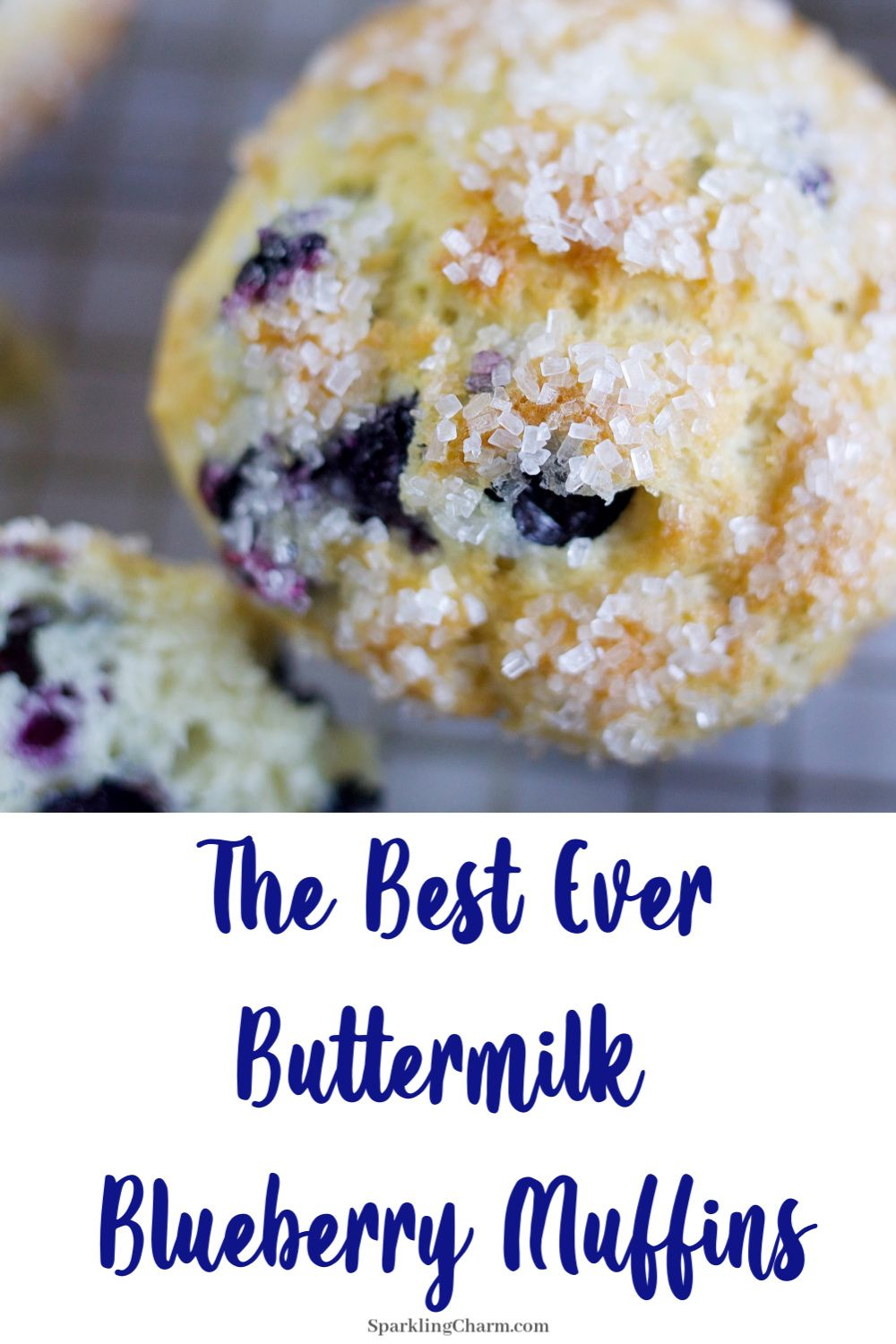 The Best Ever Homemade Buttermilk Blueberry Muffins Sparkling Charm Entertaining Lifestyle Tips Recipes Crafts Recipe In 2020 Blue Berry Muffins Homemade Buttermilk Best Blueberry Muffins