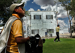 Club Compestre, the golf course that stood up to the drug cartels: http: