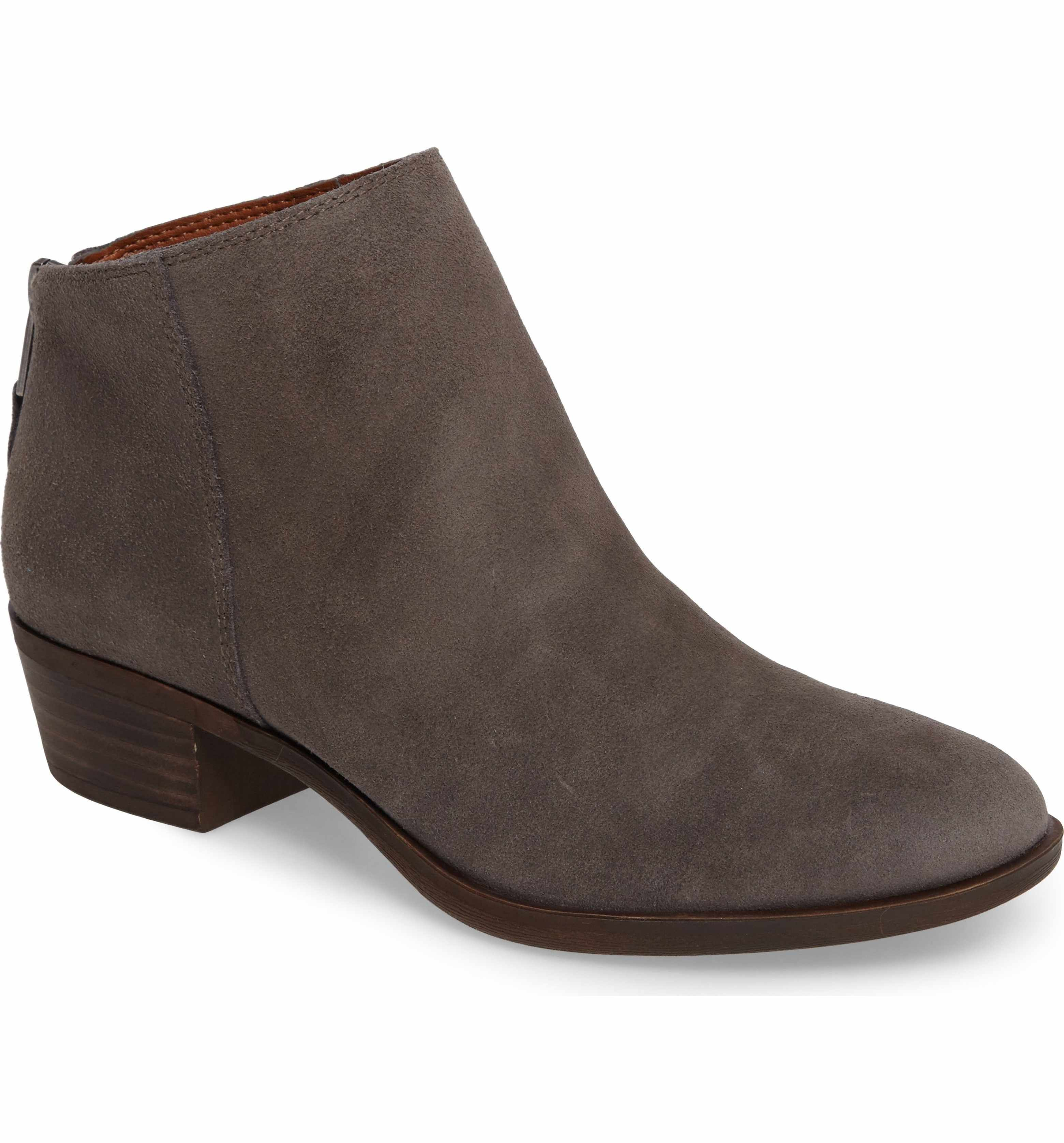 Lucky Brand Women's Brielley 2 Asymmetrical Ankle Bootie