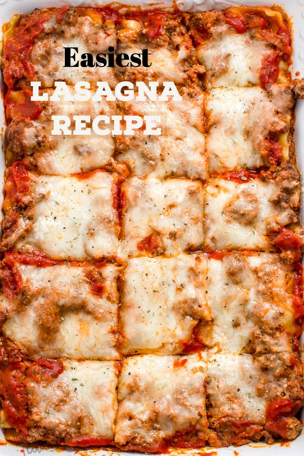 Easy Lasagna images