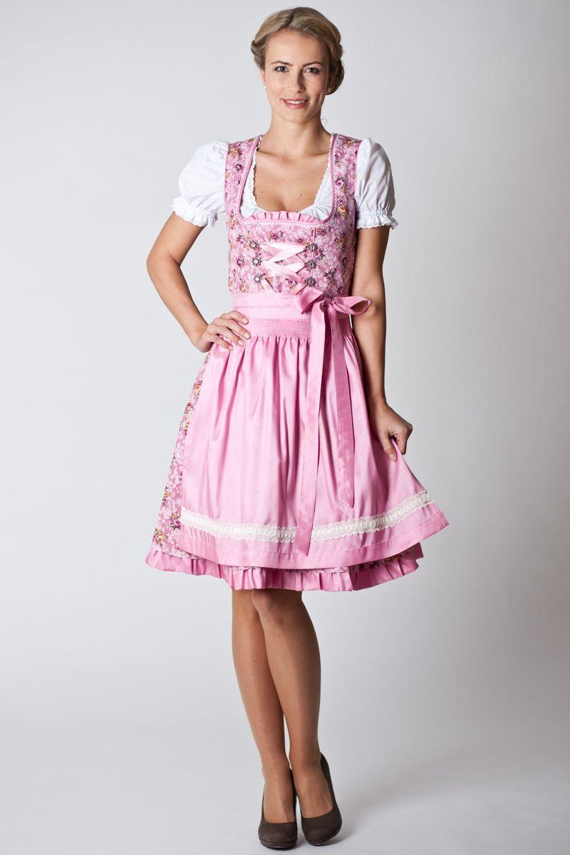 ab10e2088b478f Trachten dress Liana rosa | Dirndl ♡♥♡ Tracht ♡♥♡ in 2019 ...
