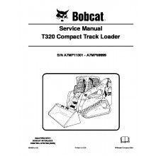 bobcat t320 compact track loader service manual pdf bobcat manuals rh pinterest com