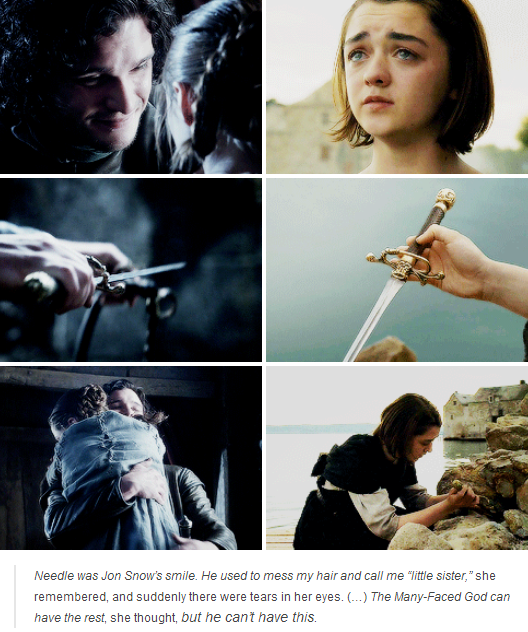 game of thrones arya many faced god