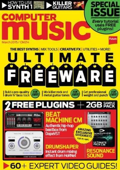 Computer Music Magazine March 2015, Music, March 2015, March, Magazine, Computer Music, Computer, 2015, Magesy.be