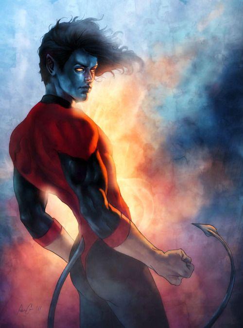 30 Inspiring Nightcrawler Illustrations Naldz Graphics Nightcrawler Comic Nightcrawler Marvel