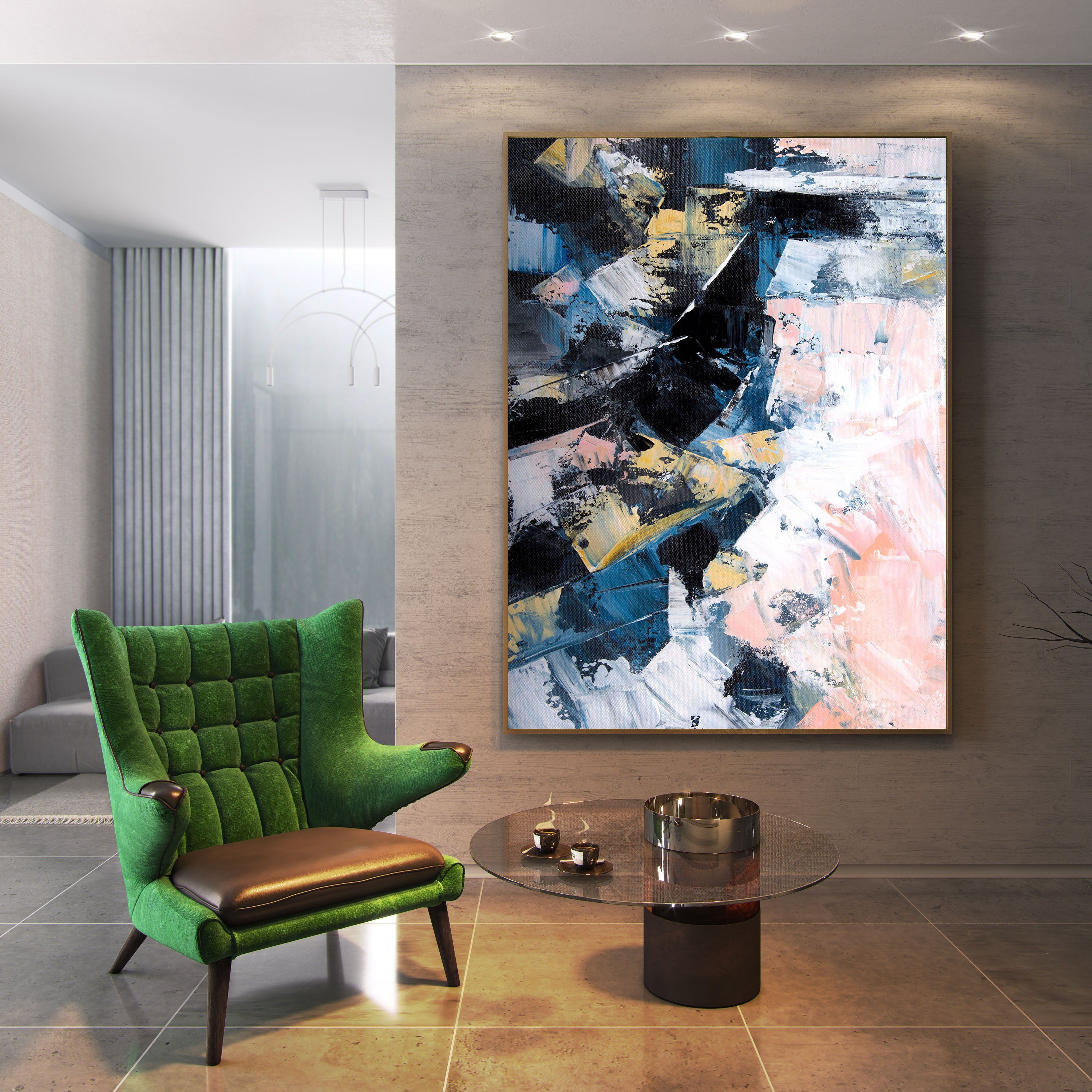 Large Abstract Painting Extra Large Modern Square Painting Modern Abstract Modern Textured Art Nw0187 Original Canvas Art Large Wall Art Extra Large Wall Art