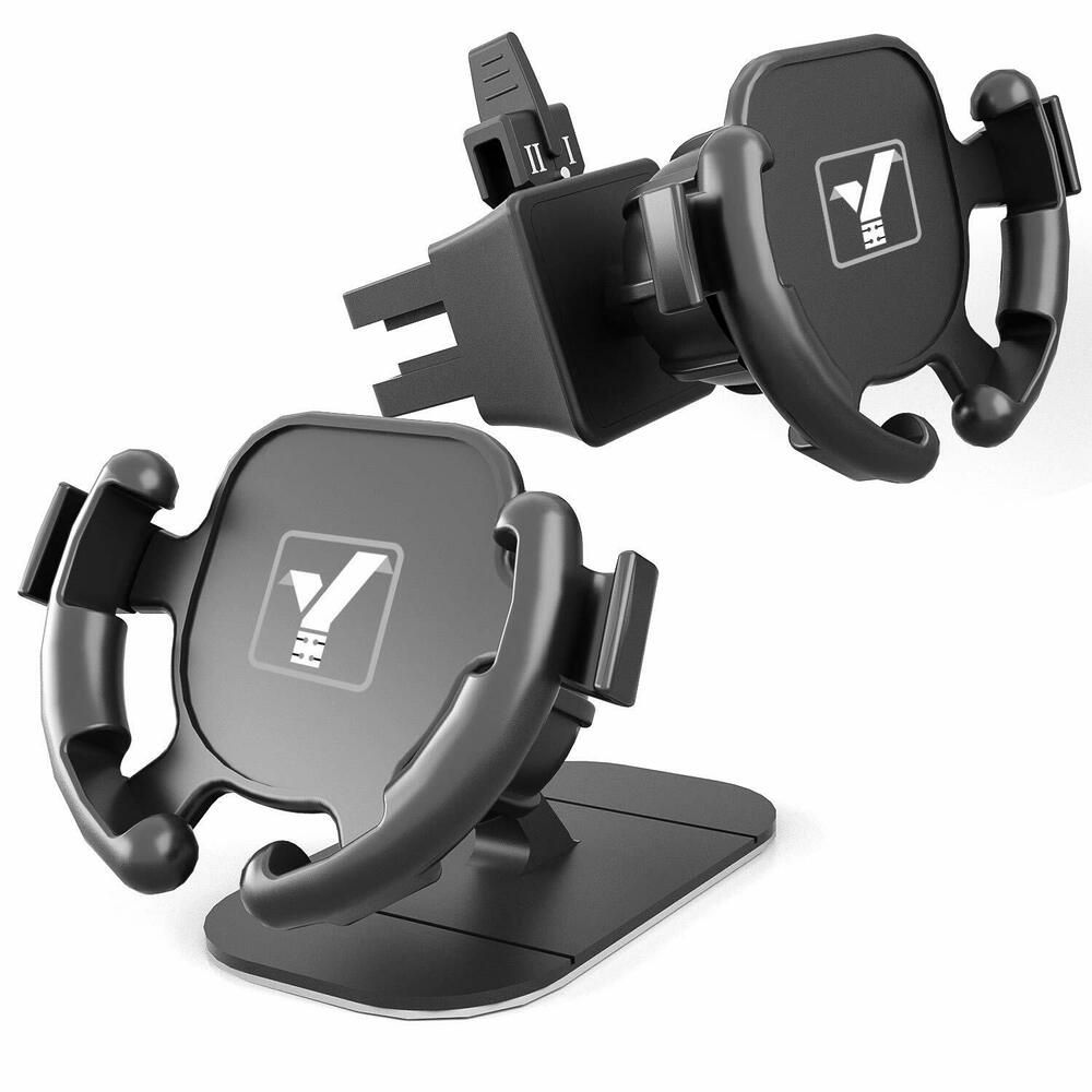 Yictone Car Phone Mount 2 Pack Set Design For Pop Dashboard Air Vent Yictone In 2020 Car Phone Mount Car Cell Phone Holder Cell Phone Charger Holder