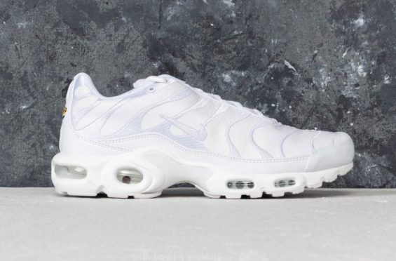 702bcce6f1f The Nike Air Max Plus Tries Leather Uppers On For Size The Nike Air Max Plus