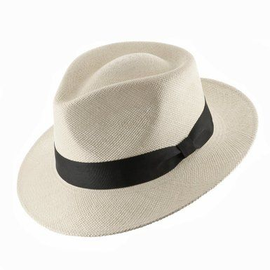 db9580a6d4f660 Genuine HAVANA Retro Panama Straw Hat Classic Ultrafino at Amazon ...