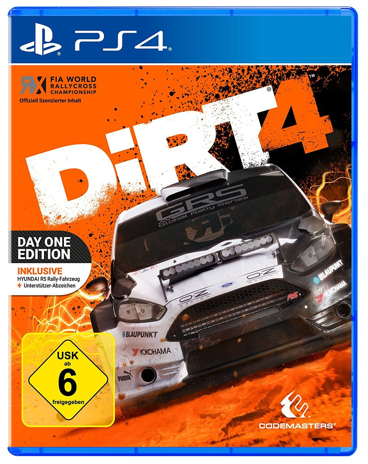 DiRT 4 Day One Edition mit Steelbook [PlayStation 4