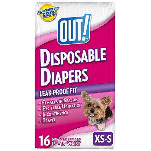 Out Disposable Female Dog Diapers Xs S Made To Fit Out Extra X Small Small Disposable Dog Diapers Are P Female Dog Diapers Dog Diapers Dog Diapers Male