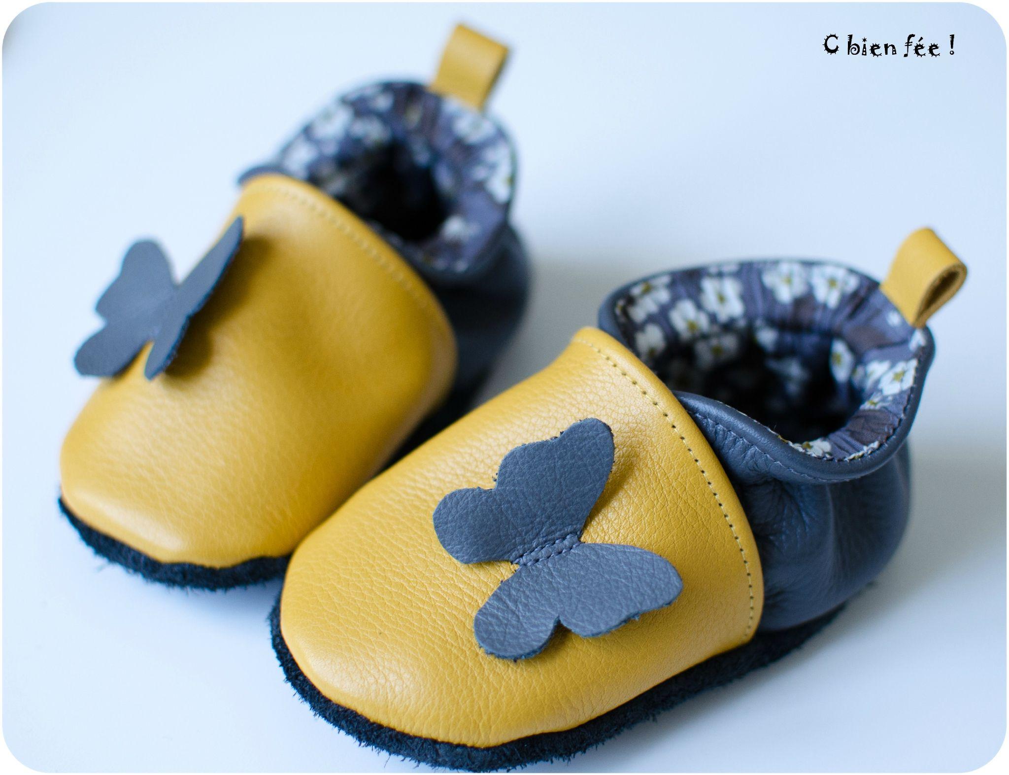 buy cheap presenting temperament shoes Envolée ... - C bien fée ! | Idée activités | Chausson bebe ...
