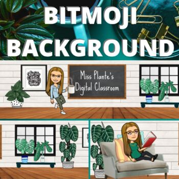 Looking For A Cute Google Classroom Banner This Editable Slide Is Ready For You To Input Your Own Bitmoji Into Re Google Classroom Classroom Classroom Banner