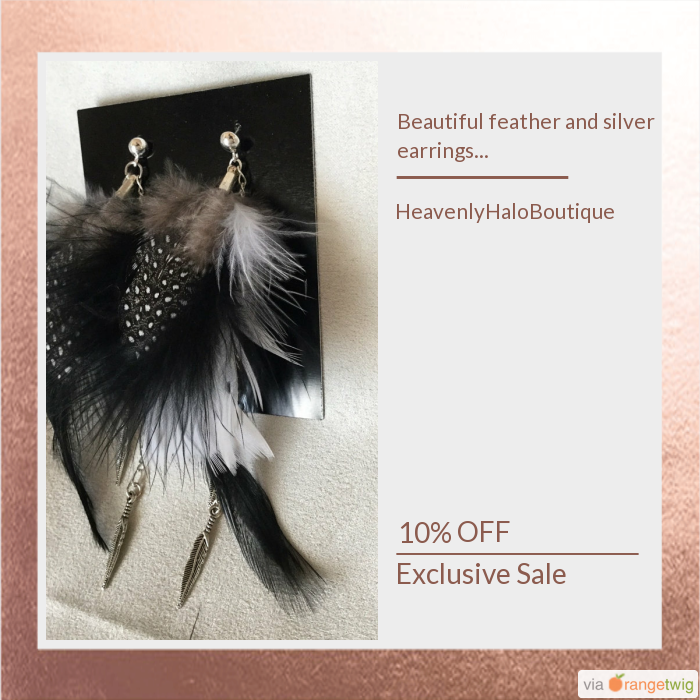 10% OFF on select products. Hurry, sale ending soon!  Check out our discounted products now: https://orangetwig.com/shops/AAB4Fp4/campaigns/AACe6m9?cb=2016004&sn=HeavenlyHaloBoutique&ch=pin&crid=AACe69j&utm_source=Pinterest&utm_medium=Orangetwig_Marketing&utm_campaign=Spring_sale