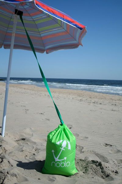 What A Great Idea For Those Blustery Days At The Beach Beach Umbrella Anchor Beach Umbrella Beach Shade Tent