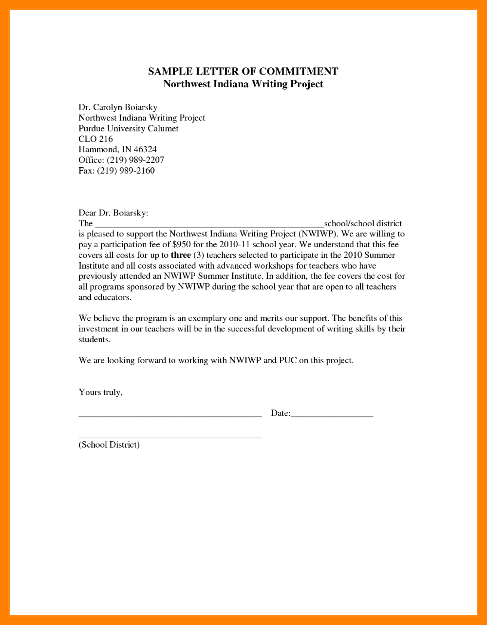 fresh commintment letter sample for you letterbuis in objective resume students stock associate job description career medical assistant