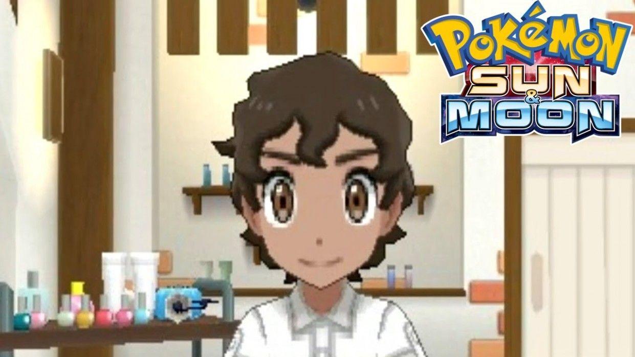 Pokemon Ultra Moon Female Hairstyle Gaya Rambut Rambut