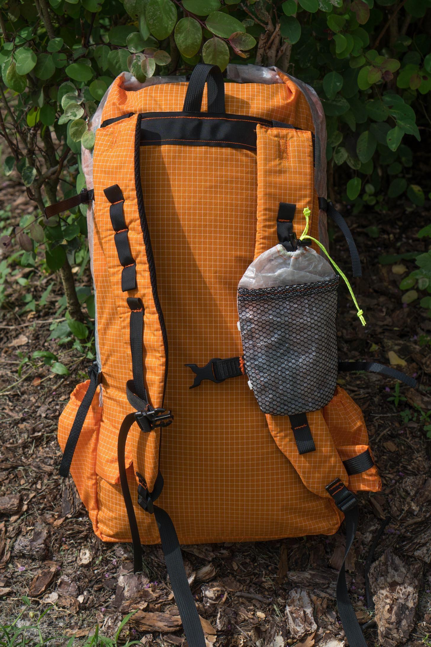 Cuben Fiber And Dyneema X Ultralight Backpack 11oz En 2020 Sac A Dos Sac