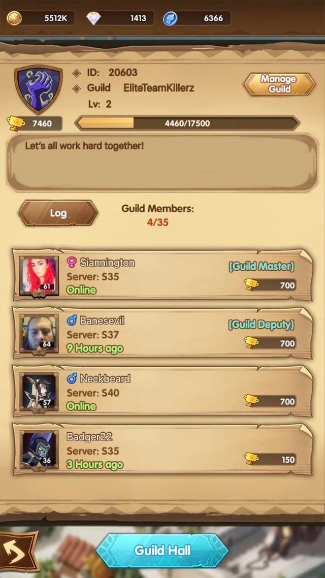 A Guild Master Takes Desperate Measures For Her Members By Begging Someone From The Subreddit To Join We Are Active We Actua Desperate Guild Friends List Rowling's original stories that allow players to be 0check in. pinterest