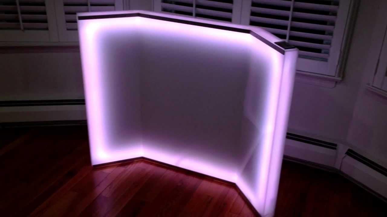Light Up LED Cajas de Joyería