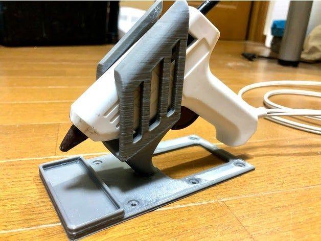 Hot Glue Gun Stand (REMIX) by Tommykijima