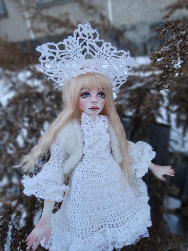 Снегурочка / Авторские куклы своими руками, ООАК / Бэйбики. Куклы фото. Одежда для кукол