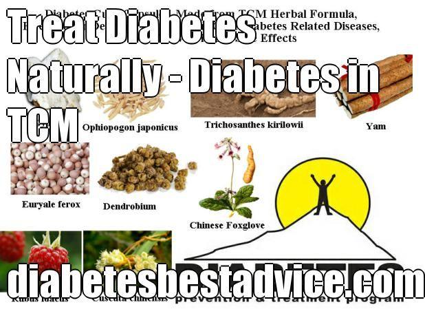 Treat Diabetes Naturally - Diabetes in TCM diabetesbestadvice.com