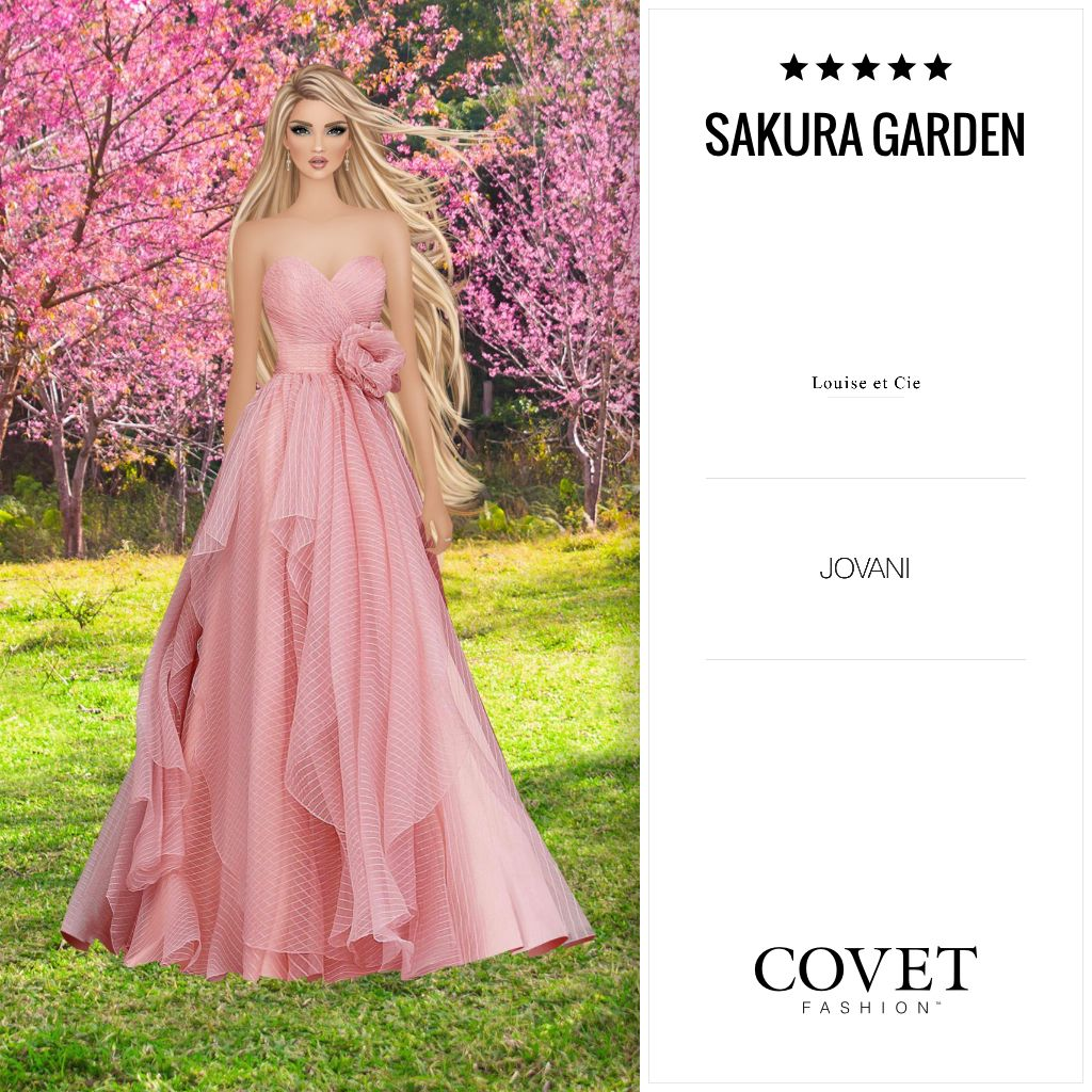 Sakura Garden 5 75 Formal Dresses Long Fashion Formal Dresses [ 1024 x 1024 Pixel ]