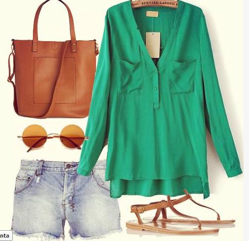 blusa green