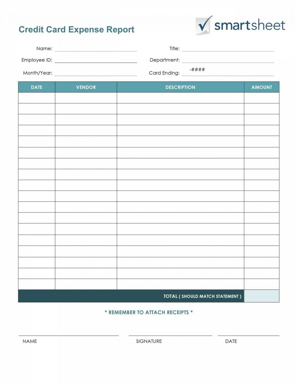Budget Planner Worksheet