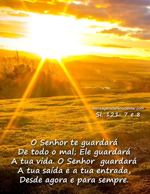 Imagens de Bom Dia Evangélicas por do sol