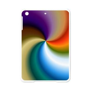 Rainbow Swirl iPad Mini Case by All Kinds of Cases. A colorful, swirling rainbow featuring bright colors in this abstract art pattern. #fathersday #ipad #ipadmini