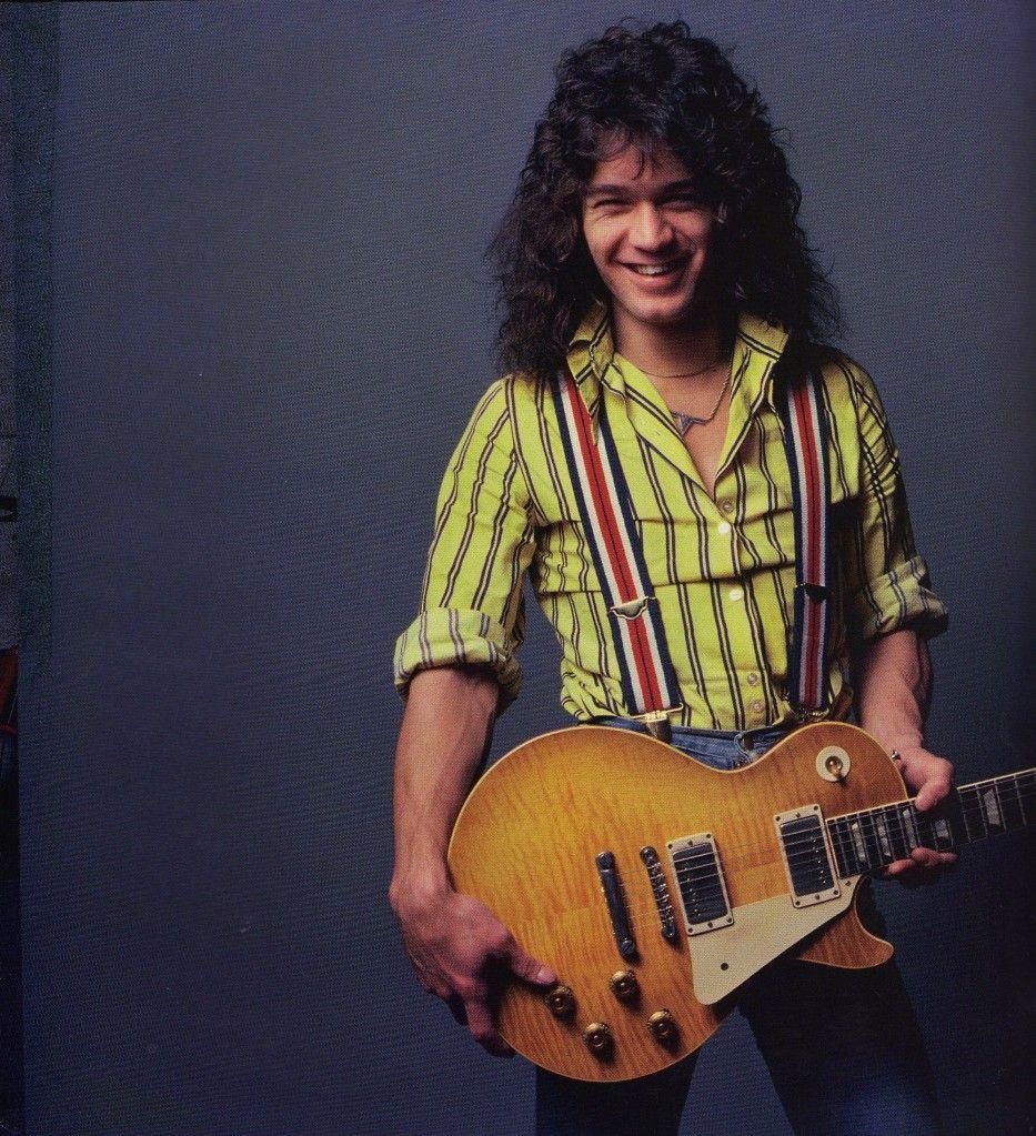 Eddie Van Halen Fotos Ineditas Neil Zlozower Van Halen Eddie Van Halen Eddie