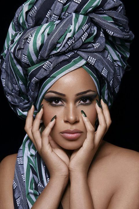 head wrap ~Latest African Fashion, African Prints, African ...