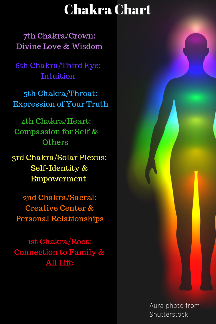 Follow The Rainbow Of Energies Inside Your Body And See Where They