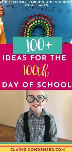 Lots of ideas for the 100 days of school celebration! / 100th day of school / 10... -  - #100th #Celebration #Day #Days #Ideas #Lots #School #100thdayofschool