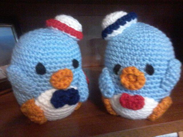 Patrón amigurumi pingüinitos   Crochet Amigurumi   Pinterest ...
