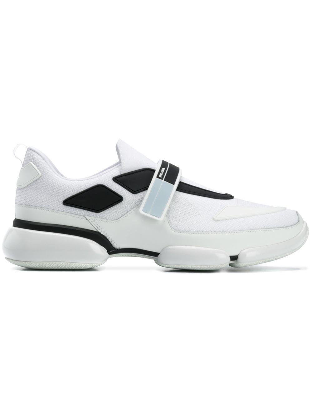 Prada Men S Shoes Trainers Sneakers Cloudbust In White Modesens Prada Men Shoes Sneakers Prada Men