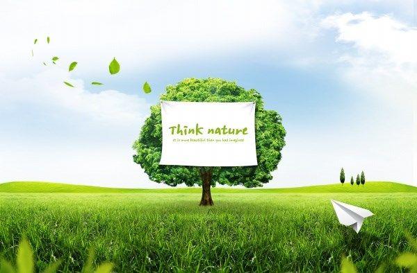 Green Outdoor Landscape Psd Design Psd Designs Landscape Background Landscape