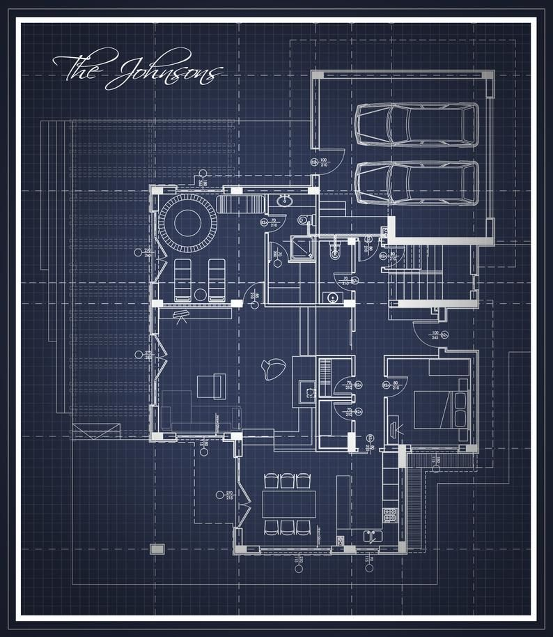 Custom Digital Floor Plan Artwork Blueprint Floor Plan Etsy In 2021 Floor Plan Drawing Custom Floor Plans Floor Plans